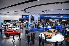 The North American International Auto Show held in Detroit, is among the largest auto shows in North America.