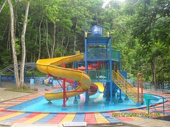 A small waterpark