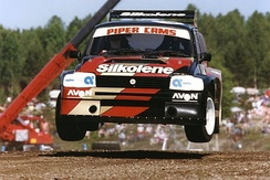 Will Gollop used his MG Metro 6R4 BiTurbo to claim the FIA European Rallycross Championship title in 1992