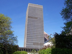 Xerox Tower in Rochester, New York, served as headquarters in 1968 to 1969.