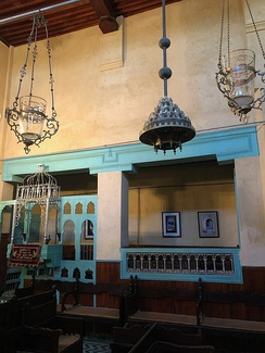 The Ibn Danan Synagogue in Fes.