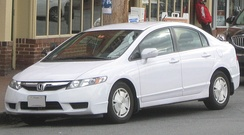 2009–2011 Honda Civic Hybrid (FA3) (US)
