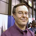 Artist Jerry Ordway at the April 2008 convention.