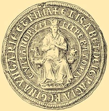 Seal of Elizabeth the Cuman