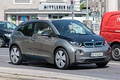 BMW i3, a rear wheel drive, rear motor electric vehicle