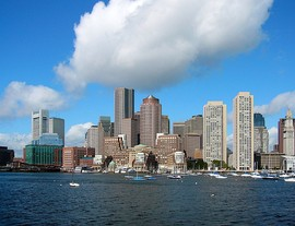 Boston, Massachusetts, is named after Boston, England.