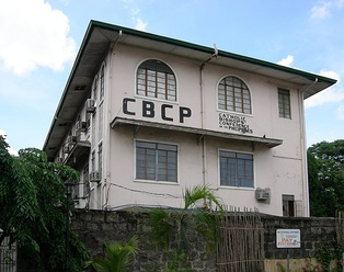 Headquarters of the Catholic Bishops' Conference of the Philippines in Manila