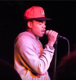 Chance the Rapper performing in September 2013 in Cologne, Germany.