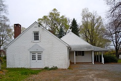 The current Chester Friends Meetinghouse was built in 1829 but the first meetinghouse dates back to 1693
