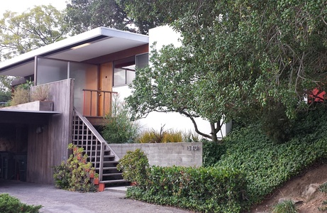 The Constance Perkins House by Richard Neutra, Los Angeles (1962)
