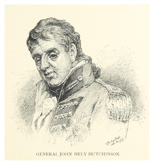 Portrait of General Hely-Hutchinson