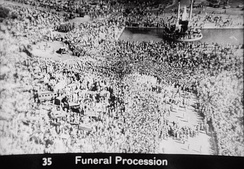 Gandhi's funeral was marked by millions of Indians.[192]