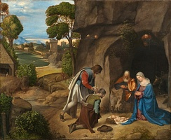 Adoration of the Shepherds by Giorgione, 1510