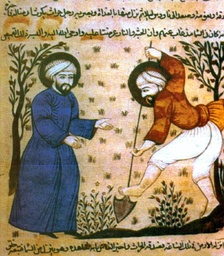 The Arab Agricultural Revolution, starting in Al-Andalus (Islamic Spain), transformed agriculture with improved techniques and the diffusion of crop plants.[66]