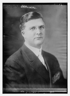 James A. Gilmore of the Federal League circa 1913