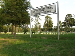 Captain Joe Byrd Cemetery, the Texas Department of Criminal Justice cemetery for deceased prisoners who are not reclaimed by their families