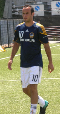 Landon Donovan is Galaxy's all-time top scorer and assist leader, and four-time MVP