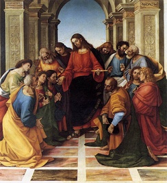 The Communion of the Apostles, by Luca Signorelli, 1512.
