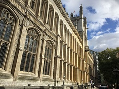 The Maughan Library. Following a £35m renovation, it is the largest new university library in the United Kingdom since World War II[46]