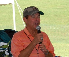 Merrill Reese, inducted in 2009, long time radio broadcaster for the Philadelphia Eagles.