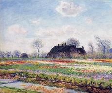 Monet - Tulpenfelder in Sassenheim - 1886.jpg