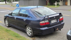 Nissan Primera UK GT. The UK GT was the Sunderland built Primera hatchback exported to Japan as a captive import.