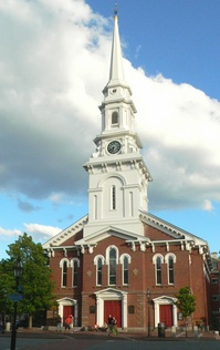 North Church is an historic Congregational church in Portsmouth, New Hampshire. The current building dates to 1854.