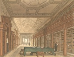 Christ Church's library in the early 19th century