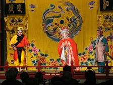 The stories in Journey to the West are common themes in Peking opera.