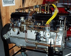 Rolls-Royce 40/50 hp Silver Ghost 7,400 cc side-valve six-cylinder engine