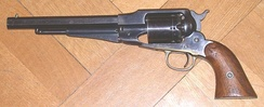 Remington New Model Army Revolver, made 1863-1875