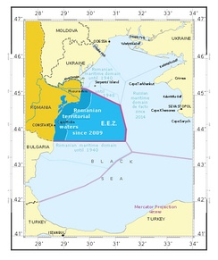 Romania's exclusive economic zone