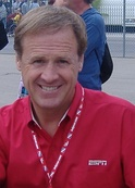 NASCAR driver Rusty Wallace