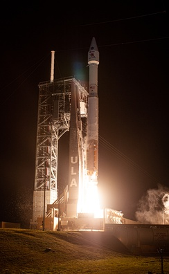 The launch of Solar Orbiter from Cape Canaveral at 11.03pm EST on 9 February 2020 (US date).
