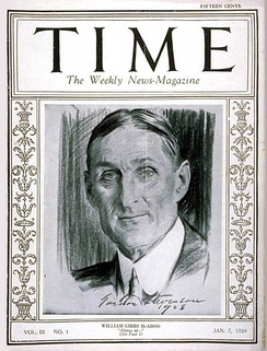 Time Cover, 7 Jan 1924