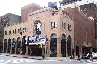 The Village East Cinema/Louis N. Jaffe Theater was originally a Jewish theater