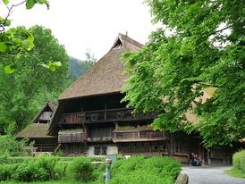 Традиционный дом в Шварцвальде