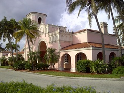 The West Palm Beach Station, built in 1925, is one of the many original stations built by the Seaboard-All Florida Railway in the 1920s. Today, these stations are used by Tri-Rail and Amtrak.