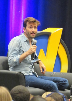 Tennant at the 2017 Wizard World Columbus Comic Con