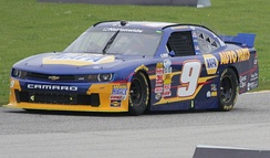 Chase Elliott at Road America in 2014.