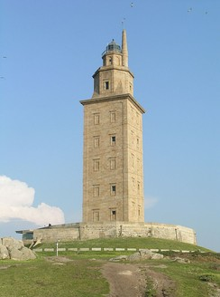 The Tower of Hercules lighthouse
