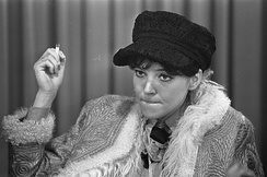 Anna Karina, having rejected a role in Breathless, appeared in Godard's next film Le Petit Soldat, which concerned France's war in Algeria