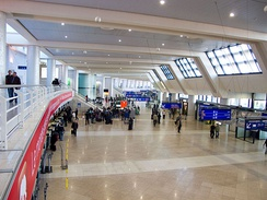 Another view of the check-in hall 1