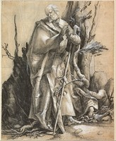 Bearded Saint in a Forest, c. 1516