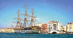 The Amerigo Vespucci at Venice, 2006