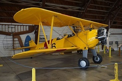 Boeing-Stearman NS2-S at the Arkansas Air & Military Museum in Fayetteville, Arkansas