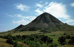 Bear Butte, in South Dakota, is a sacred site for over 30 Plains tribes.