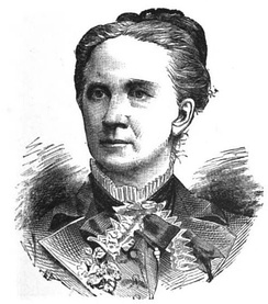 Belva Lockwood was the second woman, (after Victoria Woodhull), to run for President of the United States.