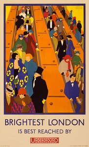 London Underground poster by Horace Taylor (1924)