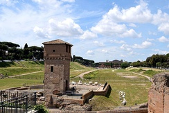 Circus Maximus, a mass entertainment venue located in Rome